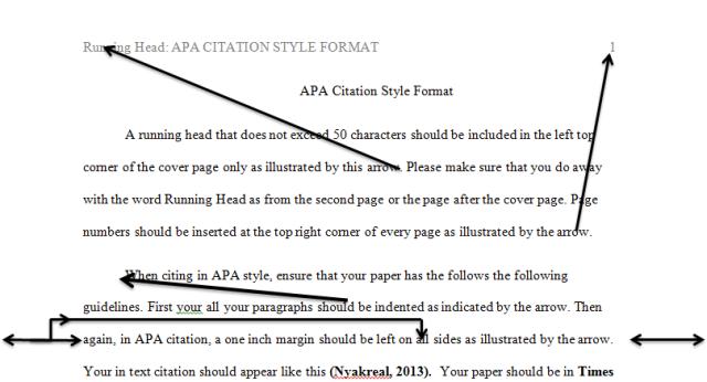 Apa Citation Style Format Kenyayote