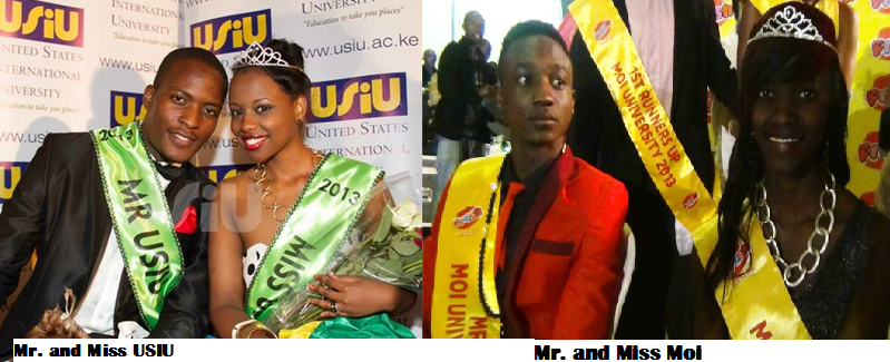 Mr and Miss University Moi and USIU