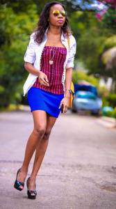 Lucia Musau fashion blog Lucia is the founder African Elite Model, events planner and a Kenyan fashion blogger. Her blog majorly talks about fashion. www.luciamusau.com