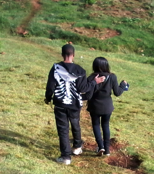 Picture of my friend Chela and I walking down the hills of Kabarnet. This is one of the most beautiful places to have a view of the Kabarnet area. There is a small cool resort there. Entrance is free.