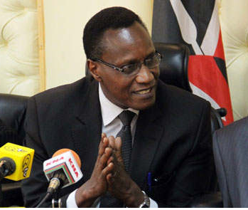 Kaimenyi's hand in disapproval  of courses in public universities