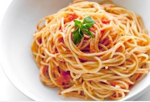 A meal of Spaghetti