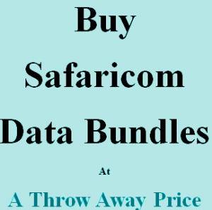 cheap Safaricom data bundles