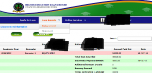 helb loan disbursement