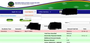helb loan disbursement