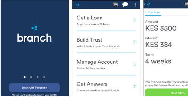 branch online loans kenya