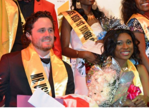 Mr. and Miss United States international University (USIU)- Peter Taylor and Irene Ajogbor