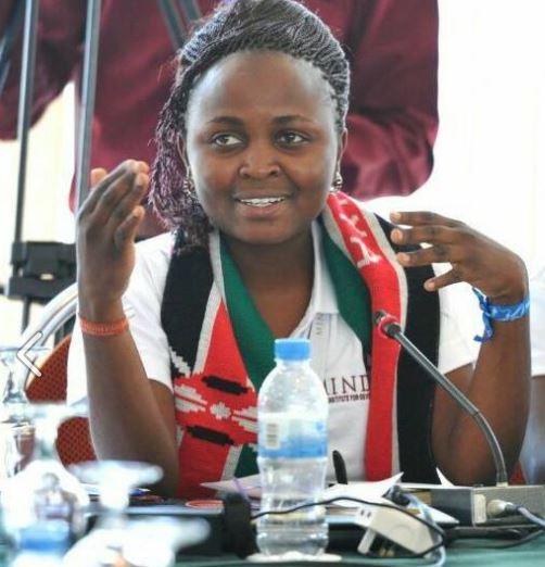 Grace Sabiri Mageka young scholars