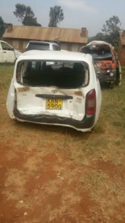 kisii road accident photos