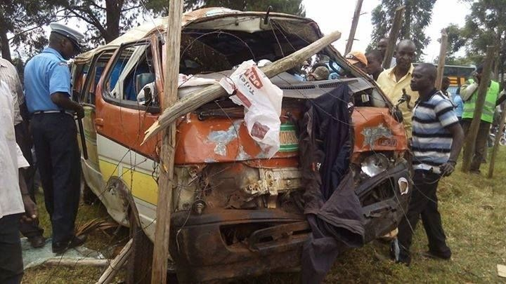photo kisii road accident