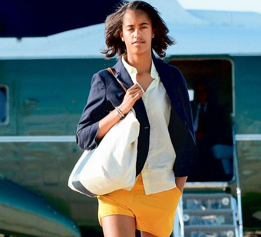 President Barack Obama's daughter Malia Obama begins school tour to identify which college to join