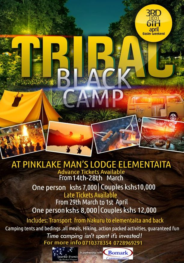 Tribal Black Camp: Here comes the biggest get to know each other camp ahead of Easter weekend