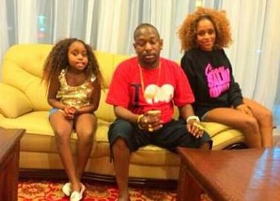 Kenyans react to a picture of Senator Mike Sonko with his daughters in mini skirts