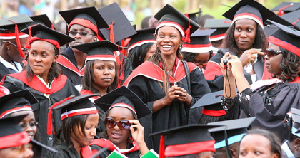 University of Nairobi September Graduates collection of Certificates