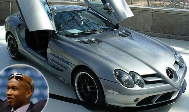 El Hadj Diouf Mercedes Benz SLR