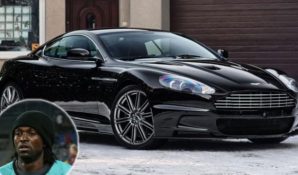 Emmanuel Adebayor Aston Martin DBS V12-