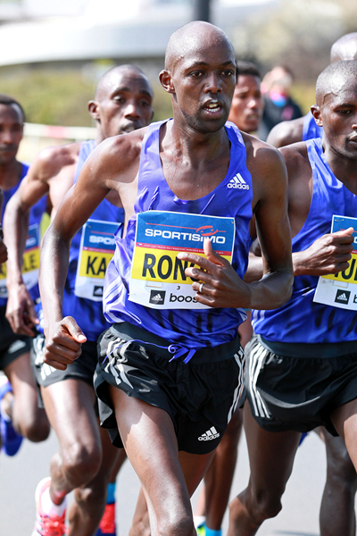 Felix Kandie and Evans Chebet Wins Men's Volkswagen Prague Marathon