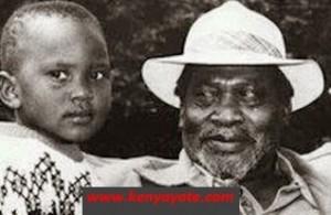 uhuru kenyatta with son uhuru1