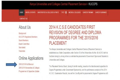 Top Degree Courses that high school students are not ready to pursue according to KUCCPS reports