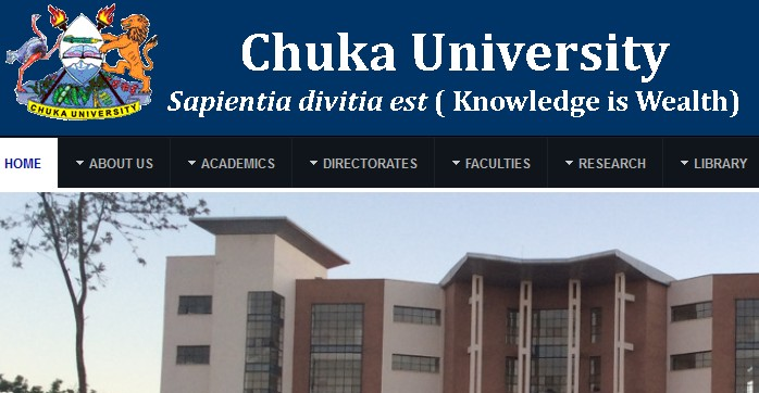 Kuccps List Of Students Admitted To Chuka University And