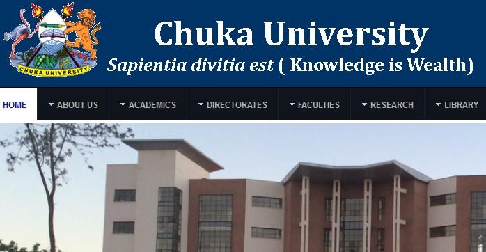 chuka university admissions
