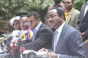 kalonzo musyoka press statement