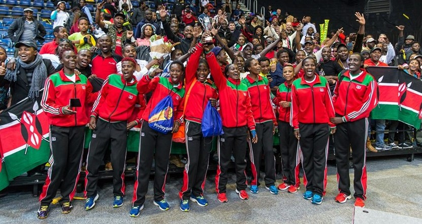 kenya women volleyball team