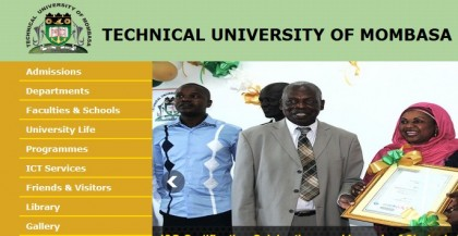 KUCCPS list of students admitted to TUM and admission requirements, 2015