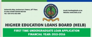 helb application first year