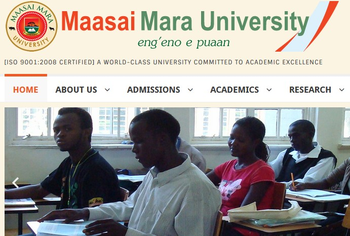 maasai mara university admission
