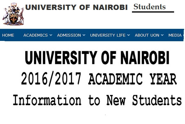 university of nairobi admissions