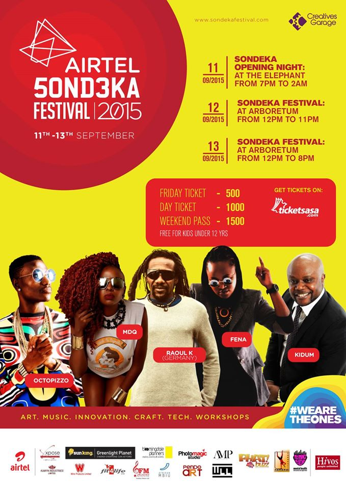 Airtel Sondeka festival event photo