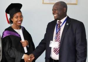 Mbai Christin Nzillani-Fist class honor student