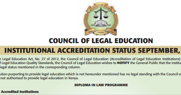 List of universities offering unaccredited and accredited law degree
