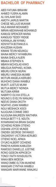 university of nairobi first years2
