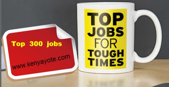 Top 300 jobs in Kenya according salary: Best Paying Careers Guide