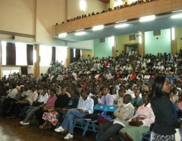 How lecture rooms and halls look like in 8 universities in Kenya