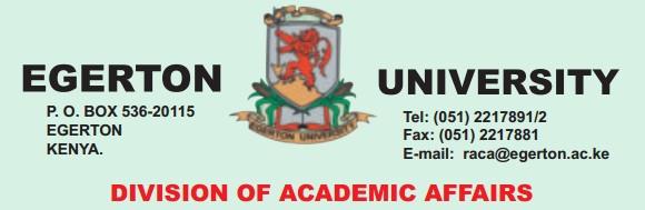 egertom university reporting dates