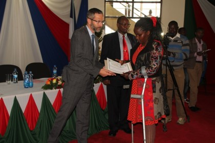 French government  gives  each former Garissa University student  ksh. 150K