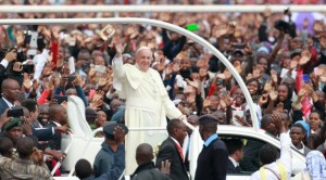 pope in nairobi kenya