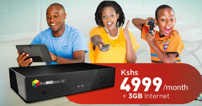 safaricom big box decoder