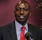 Deputy president William Samoei Ruto: