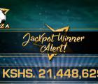 mcheza jackpot