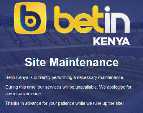 Betin Kenya Website goes down: Why Gamblers should not be