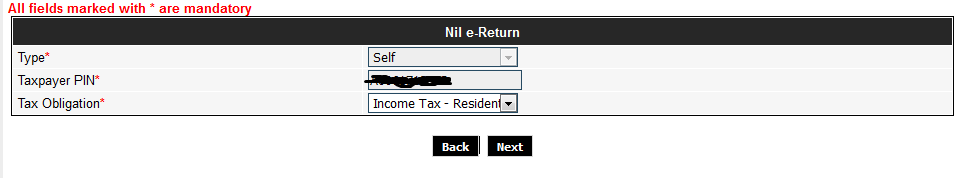 file tax return form
