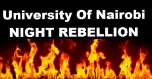 night rebellion uon