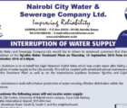 Water Supply Notice