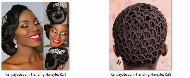 photos of best and trending hairstyles in kenya 2017