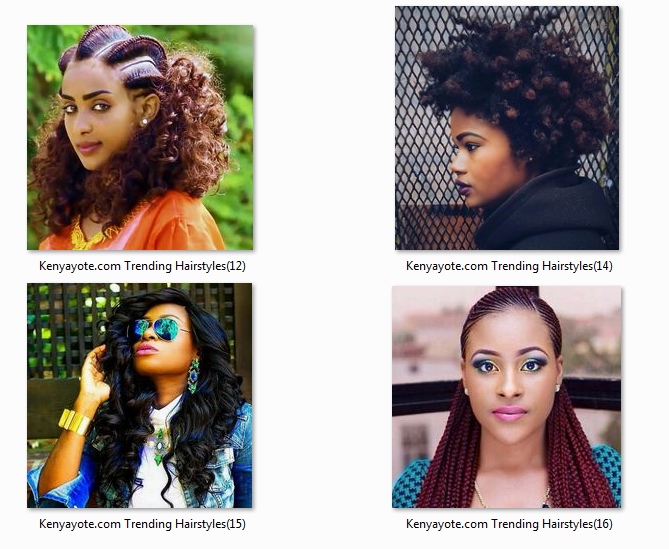 Photos Of Best And Trending Hairstyles In Kenya 2017 Africa Braids