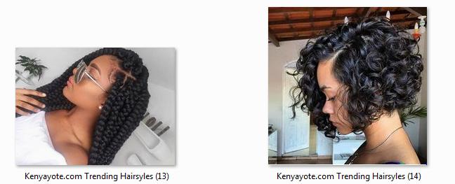 Photos Of Best And Trending Hairstyles In Kenya 2017 Africa Braids